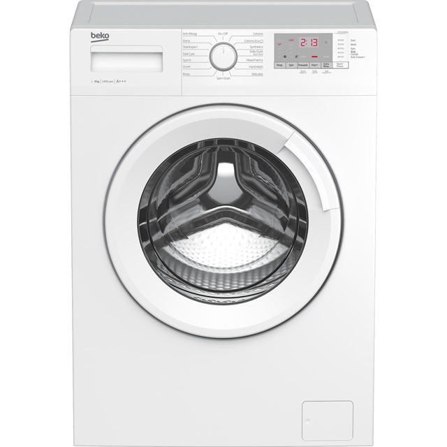 Beko WTG941B4W 9Kg Washing Machine with 1400 rpm - White - A+++ Rated - WTG941B4W_WH - 1