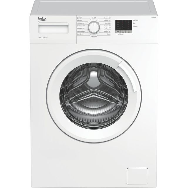 Beko WTK62051W 6Kg Washing Machine with 1200 rpm - White - A+++ Rated - WTK62051W_WH - 1