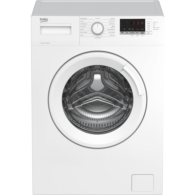 Beko WTK74151W 7Kg Washing Machine with 1400 rpm - White - A+++ Rated