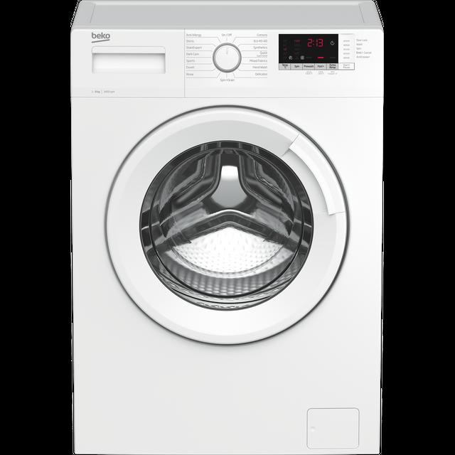 Beko WTK94151W 9Kg Washing Machine with 1400 rpm - White - B Rated