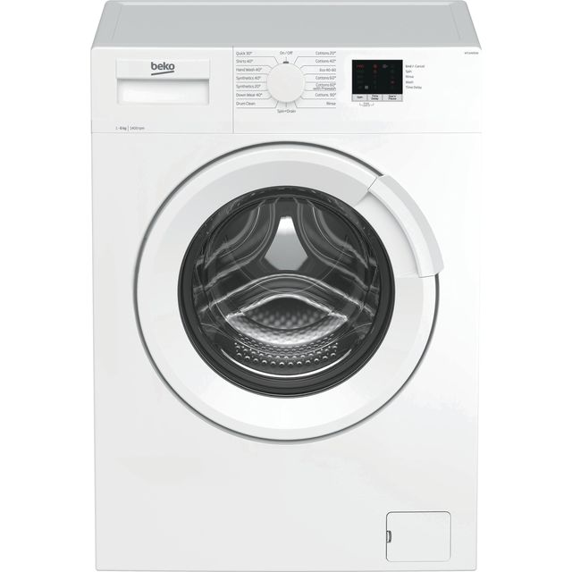 Beko WTL64051W 6Kg Washing Machine with 1400 rpm - White - A+++ Rated