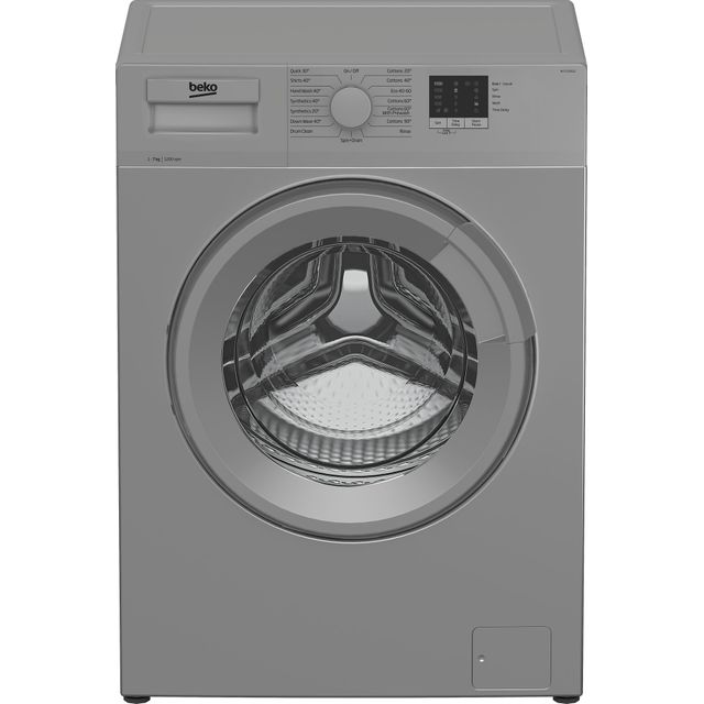 Beko WTL72051S 7Kg Washing Machine with 1200 rpm - Silver - A+++ Rated