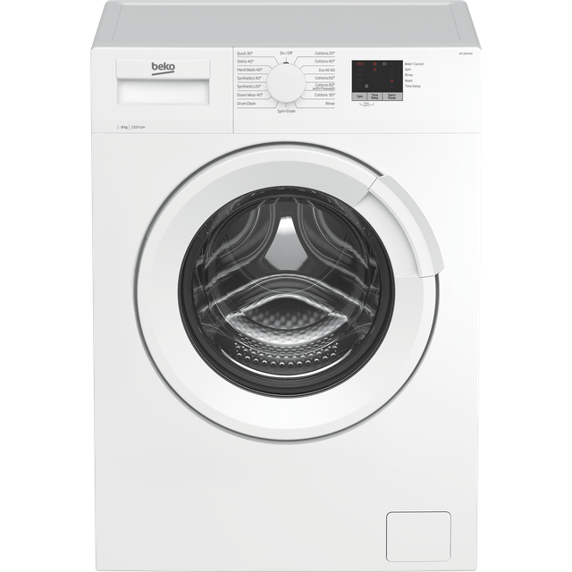 Beko WTL82051W 8Kg Washing Machine with 1200 rpm - White - A+++ Rated - WTL82051W_WH - 1