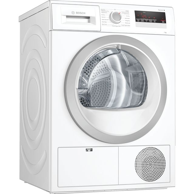 Bosch Serie 4 WTN85201GB 7Kg Condenser Tumble Dryer - White - B Rated