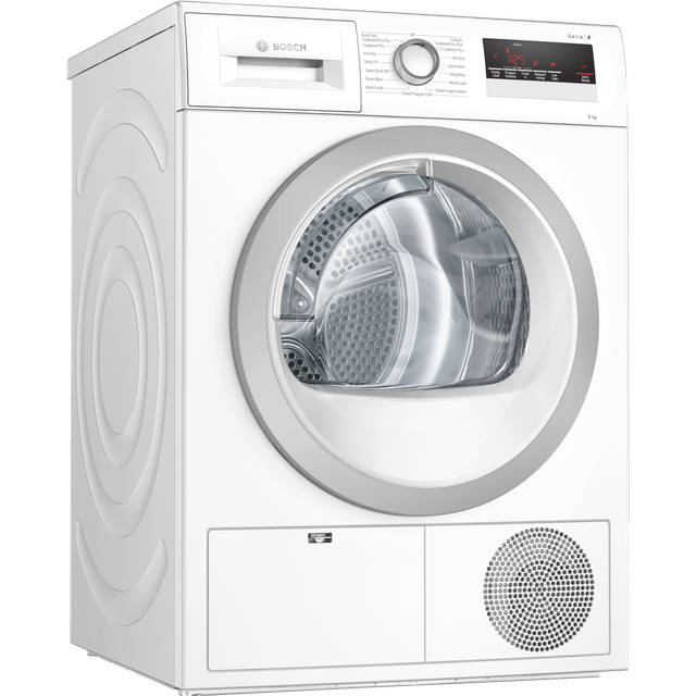 Bosch Serie 4 WTN85251GB 8Kg Condenser Tumble Dryer - White