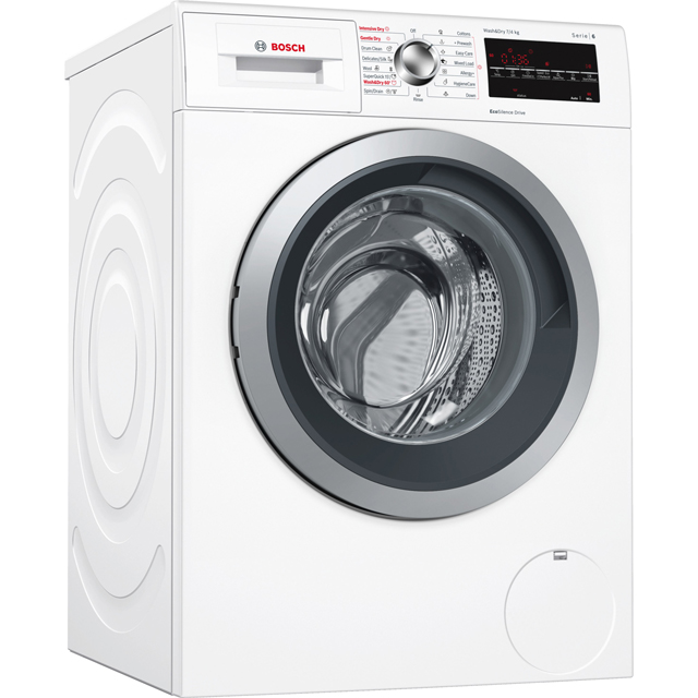 Bosch Serie 6 Free Standing Washer Dryer in White