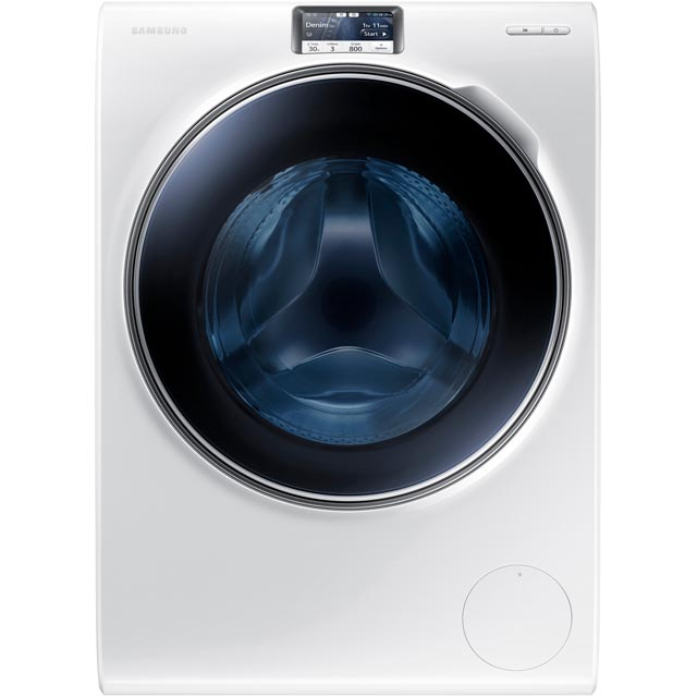 Samsung ecobubble™ WW10H9600EW Wifi Connected 10Kg Washing Machine with 1600 rpm - White / Blue - A+++ Rated
