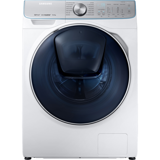 Samsung QuickDrive™ WW10M86DQOA Wifi Connected 10Kg Washing Machine with 1600 rpm - White - A+++ Rated - WW10M86DQOA_WH - 1