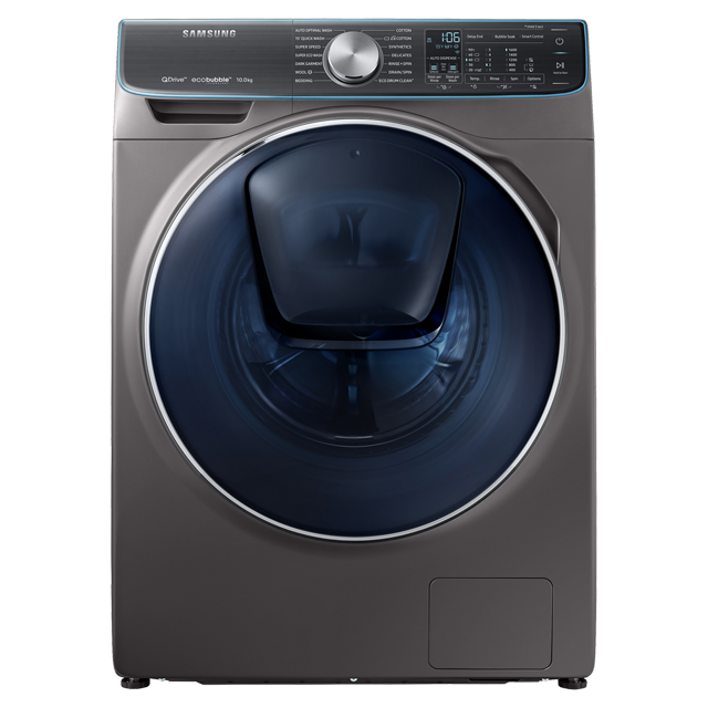 Samsung QuickDrive™ WW10M86DQOO Wifi Connected 10Kg Washing Machine with 1600 rpm - Graphite - A+++ Rated - WW10M86DQOO_GH - 1