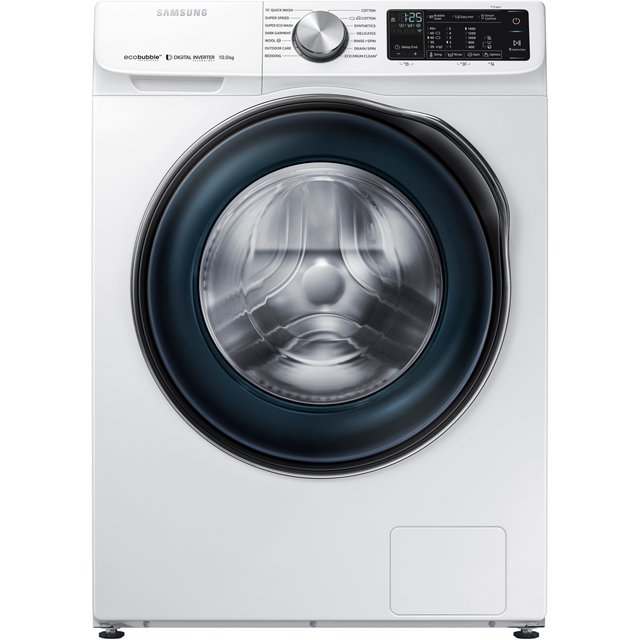Samsung ecobubble™ WW10N645RBW Wifi Connected 10Kg Washing Machine with 1400 rpm - White - A+++ Rated