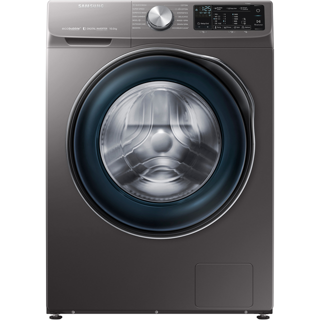 Samsung ecobubble™ WW10N645RBX Wifi Connected 10Kg Washing Machine with 1400 rpm - Graphite - A+++ Rated - WW10N645RBX_GH - 1