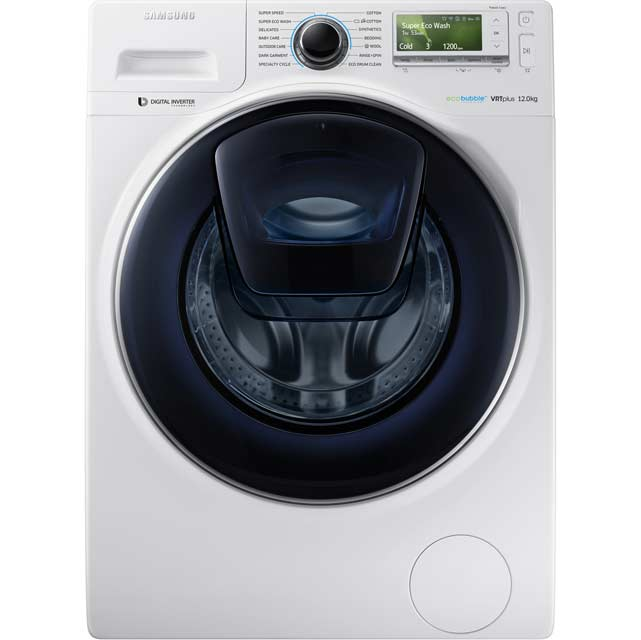 Samsung AddWash WW12K8412OW 12Kg 1400 Spin Washing Machine Best Price and Cheapest