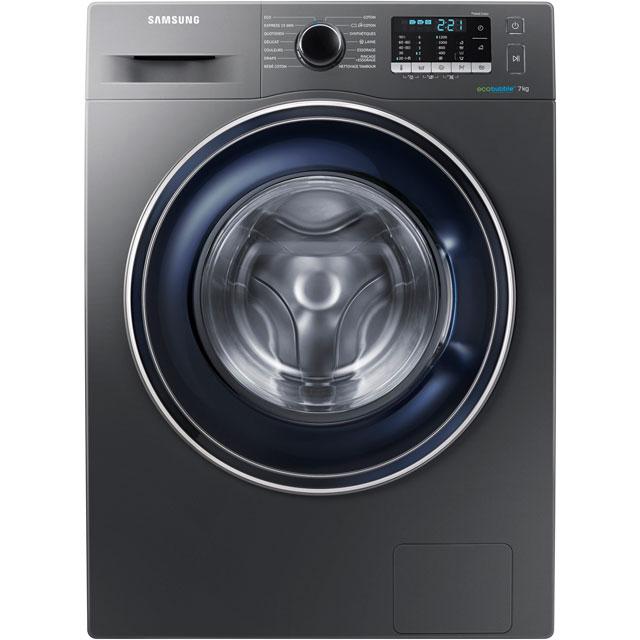 Samsung ecobubble WW70J5355FX Free Standing Washing Machine in Graphite