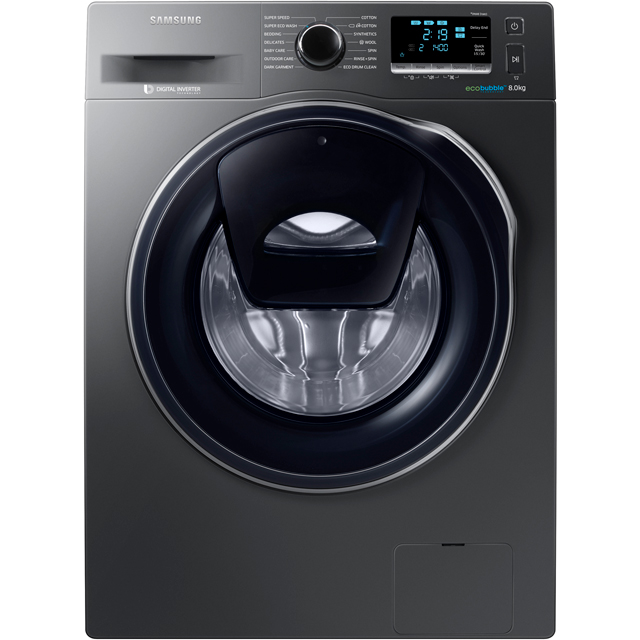 Samsung AddWash™ ecobubble™ 8Kg Washing Machine - Graphite - A+++ Rated