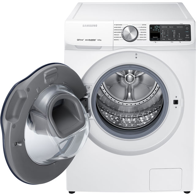 samsung ww80m645opm quickdrive addwash a 8kg washing machine white new ebay. Black Bedroom Furniture Sets. Home Design Ideas