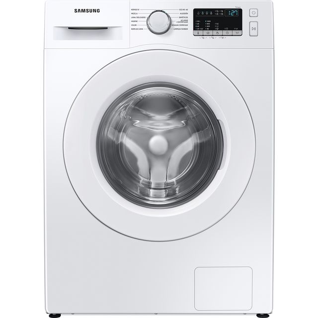Samsung ecobubble™ WW80T4040EE 8Kg Washing Machine with 1400 rpm - White - A+++ Rated - WW80T4040EE_WH - 1