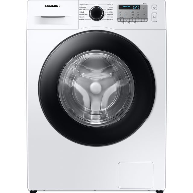 Samsung ecobubble™ WW80TA046AH 8Kg Washing Machine with 1400 rpm - White - A+++ Rated - WW80TA046AH_WH - 1