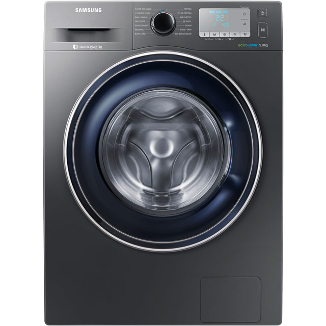 Samsung ecobubble™ WW90J5456FC 9Kg Washing Machine with 1400 rpm - Graphite - A+++ Rated