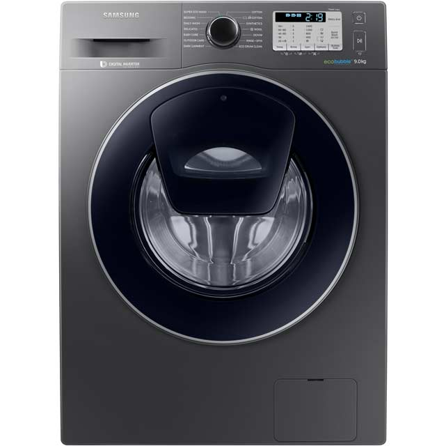Samsung AddWash™ ecobubble™ WW90K5413UX 9Kg Washing Machine with 1400 rpm - Graphite - A+++ Rated