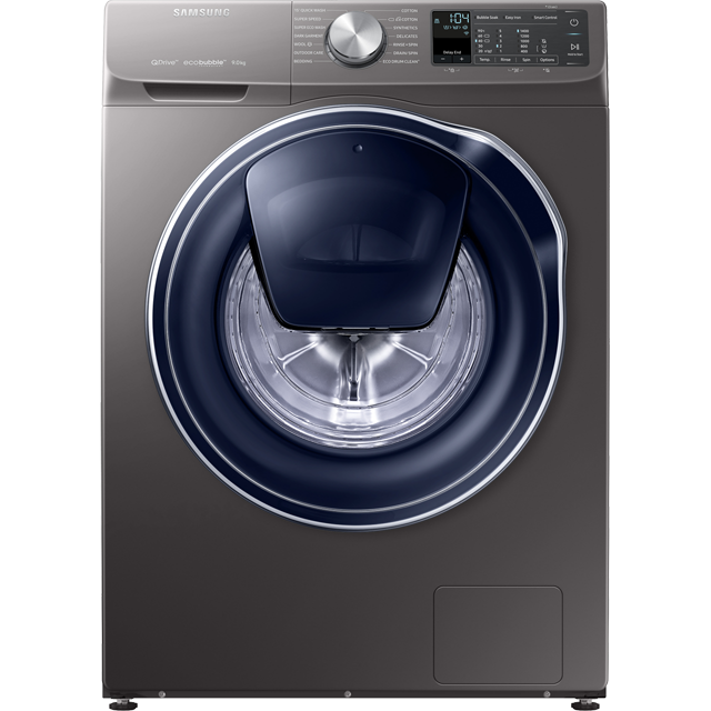 Samsung QuickDrive™ WW90M645OPO Wifi Connected 9Kg Washing Machine with 1400 rpm - Graphite - A+++ Rated