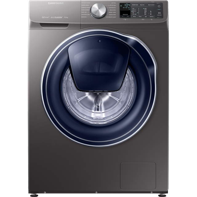 Samsung QuickDrive™ WW90M645OPO 9Kg Washing Machine with 1400 rpm - Graphite - WW90M645OPO_GH - 1