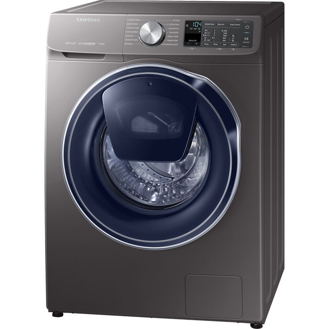 samsung quickdrive ww90m645opo washing machine graphite. Black Bedroom Furniture Sets. Home Design Ideas