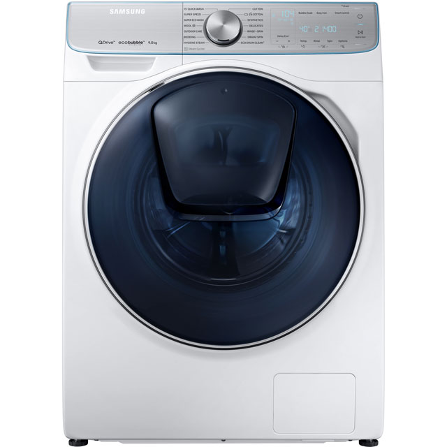Samsung QuickDrive™ WW90M741NOR 9Kg Washing Machine with 1400 rpm - White - A+++ Rated