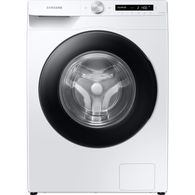 """Samsung AutoDoseâ""""¢ WW90T534DAW Wifi Connected 9Kg Washing Machine with 1400 rpm - White - A+++ Rate"""