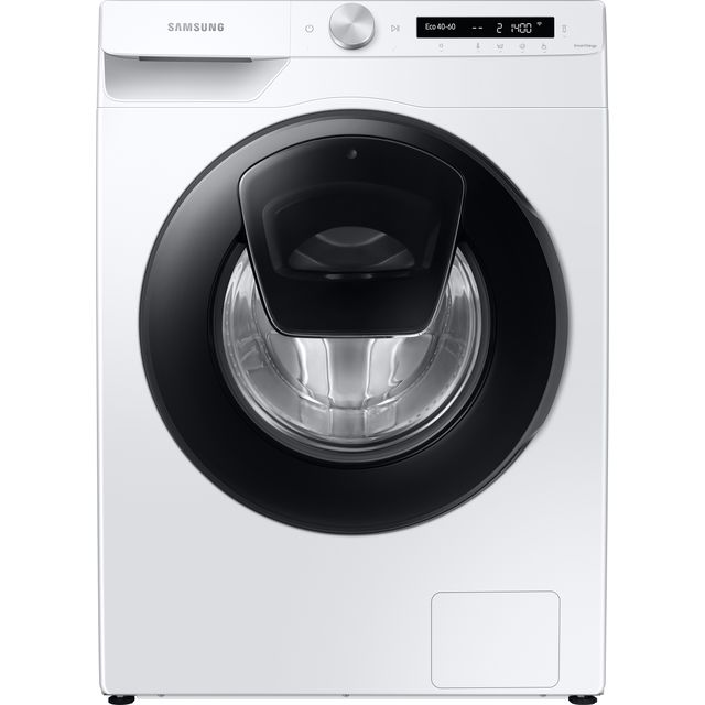 Samsung AddWash™ ecobubble™ WW90T554DAW Wifi Connected 9Kg Washing Machine with 1400 rpm - White - A+++ Rated - WW90T554DAW_WH - 1