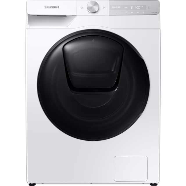 "Samsung QuickDriveâ""¢ WW90T854DBH Wifi Connected 9Kg Washing Machine with 1400 rpm - White - A+++ Ra"