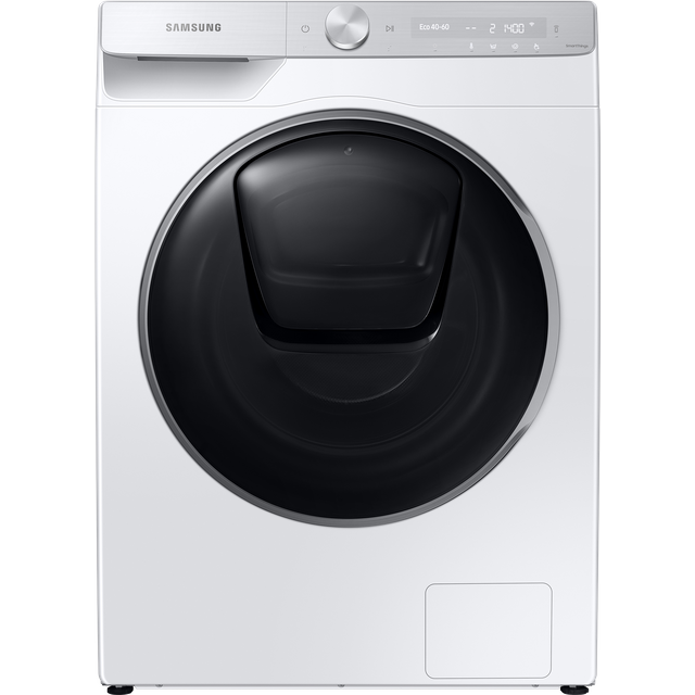 "Samsung QuickDriveâ""¢ WW90T986DSH Wifi Connected 9Kg Washing Machine with 1600 rpm - White - A+++ Ra"