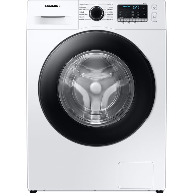 Samsung ecobubble™ WW90TA046AE 9Kg Washing Machine with 1400 rpm - White - A+++ Rated - WW90TA046AE_WH - 1