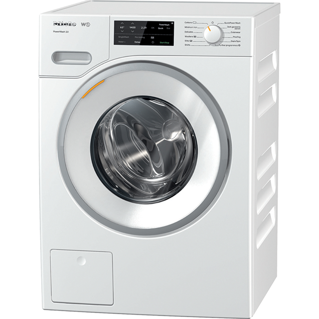 Miele W1 PowerWash 8Kg Washing Machine - White - A+++ Rated
