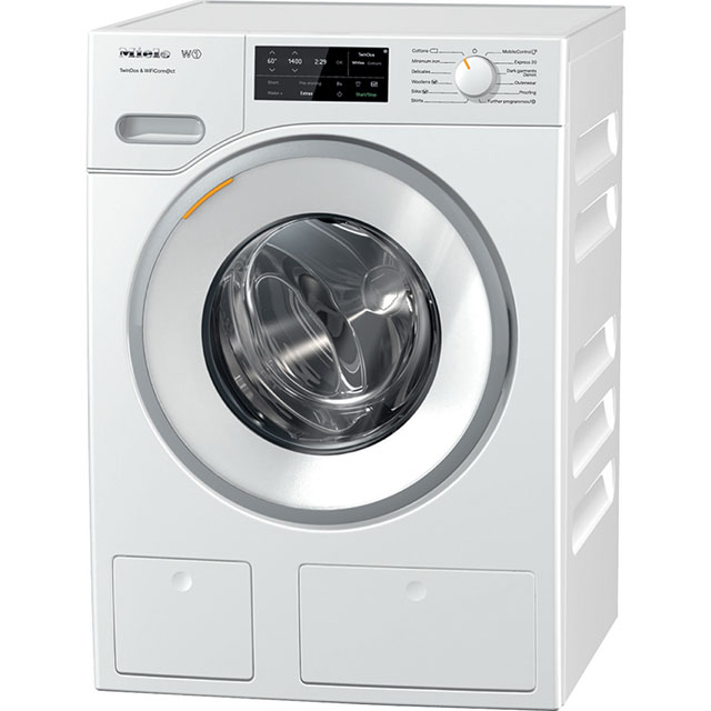 Miele W1 TwinDos 8Kg Washing Machine - White - A+++ Rated