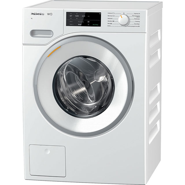 Miele W1 9Kg Washing Machine - White - A+++ Rated