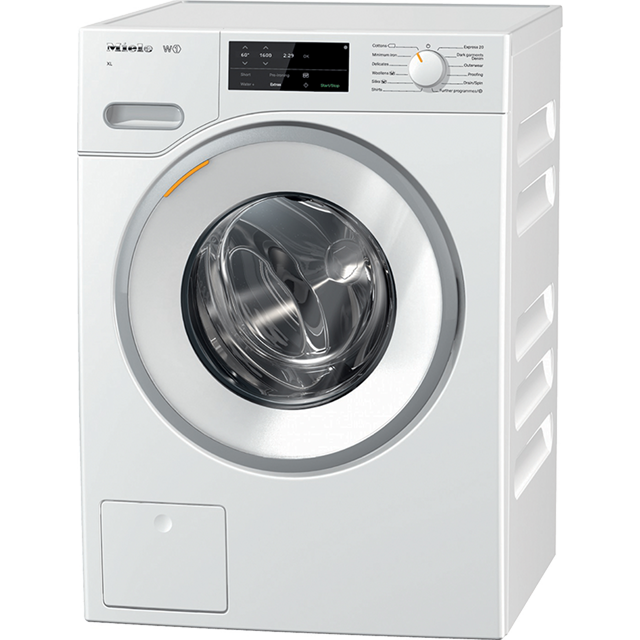Miele W1 WWG120 9Kg Washing Machine with 1600 rpm - White - A+++ Rated - WWG120_WH - 1