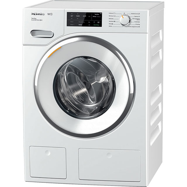 Miele W1 TwinDos 9Kg Washing Machine - White - A+++ Rated