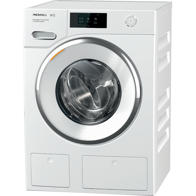 Miele W1 TwinDos WWR860WPS Wifi Connected 9Kg Washing Machine with 1600 rpm - White - A+++ Rated - WWR860WPS_WH - 1