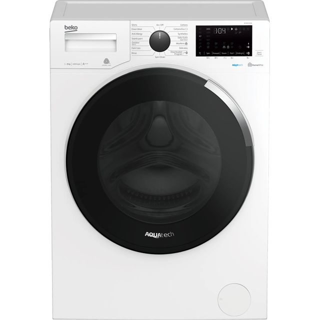 Beko WY84044EW 8Kg Washing Machine - White - WY84044EW_WH - 1