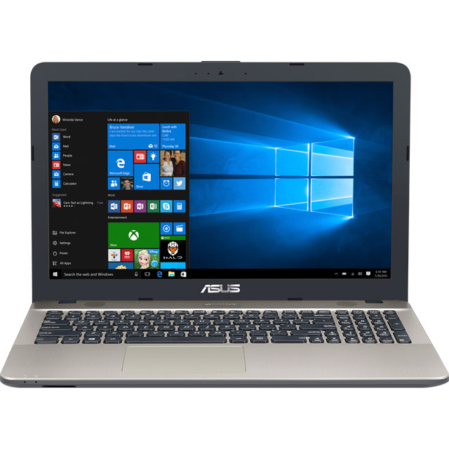 "Asus Vivobook 15.6"" Laptop - Chocolate Black - X540UA-GQ725T - 1"