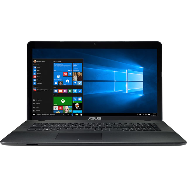 "Asus 17.3"" Laptop Intel® Celeron® 8GB RAM - Grey"