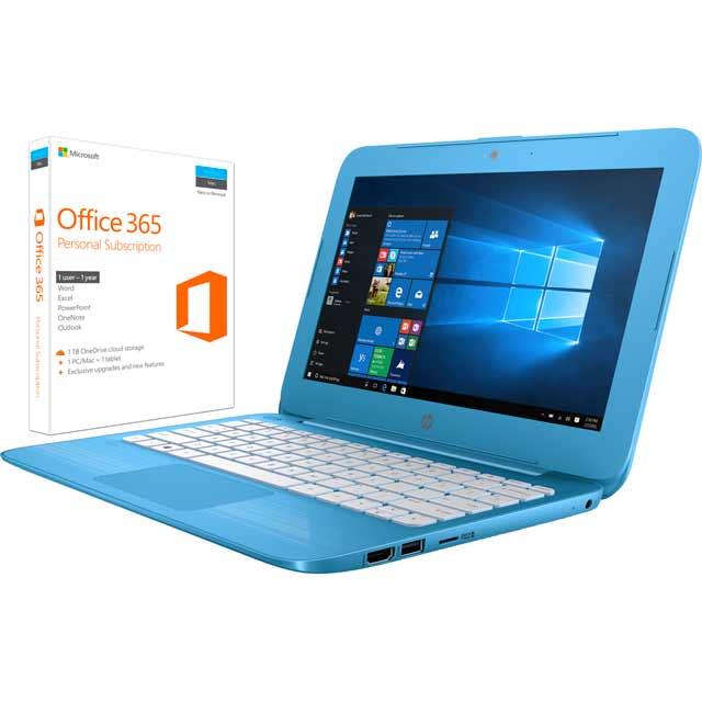 HP X9W53EA#ABU Laptop in Aqua Blue