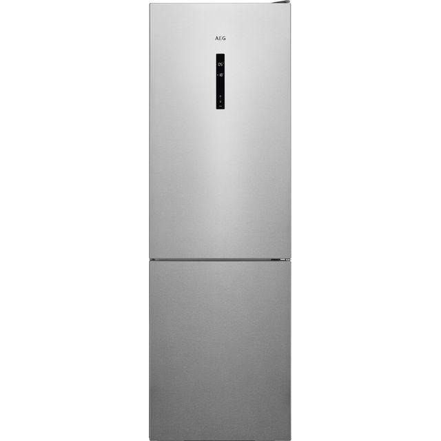 AEG RCB732E5MX 60/40 Frost Free Fridge Freezer - Silver - E Rated