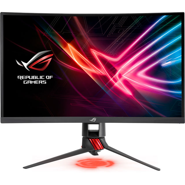 "Asus ROG Strix XG Series Full HD 27"" 144Hz Curved Gaming Monitor with AMD FreeSync - Black"