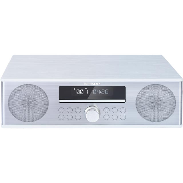 Sharp XL-B715D 90 Watt All in One Hi Fi System with Bluetooth - White - XL-B715D_WH - 1