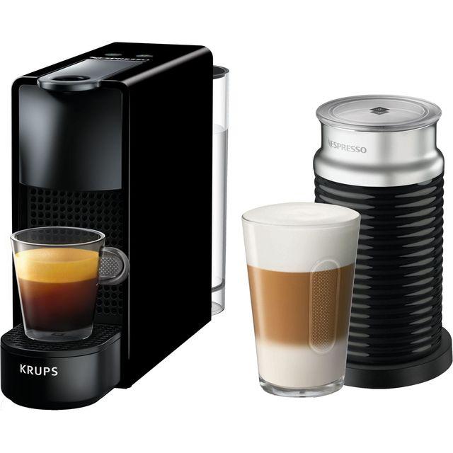 Nespresso by Krups Essenza & Milk XN111840 Nespresso in Piano Black
