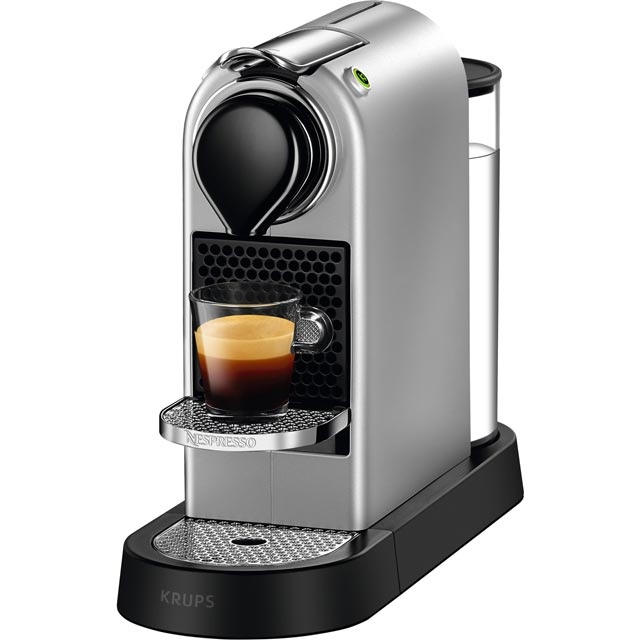 Nespresso by Krups XN740B40 CitiZ Coffee Machine - Silver - XN740B40_SI - 1