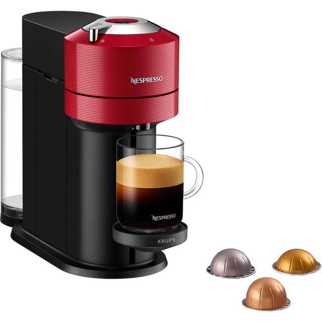 Nespresso by Krups Vertuo Next Basic XN910540 Pod Coffee Machine - Red