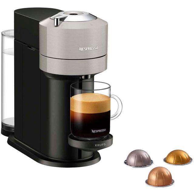 Nespresso by Krups Vertuo Next XN910B40 Pod Coffee Machine - Grey