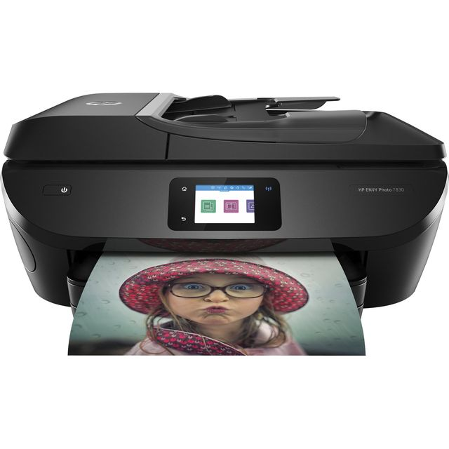 HP Envy Photo 7830 Inkjet Printer - Black - Y0G50B#BHC - 1